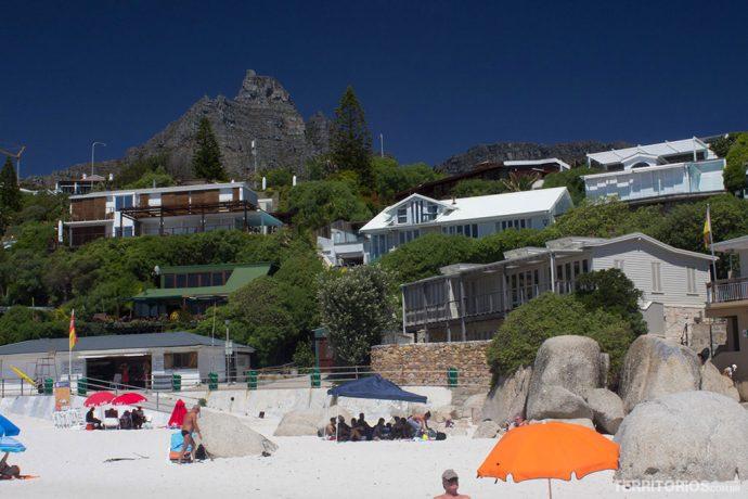 Vista de Clifton Beach