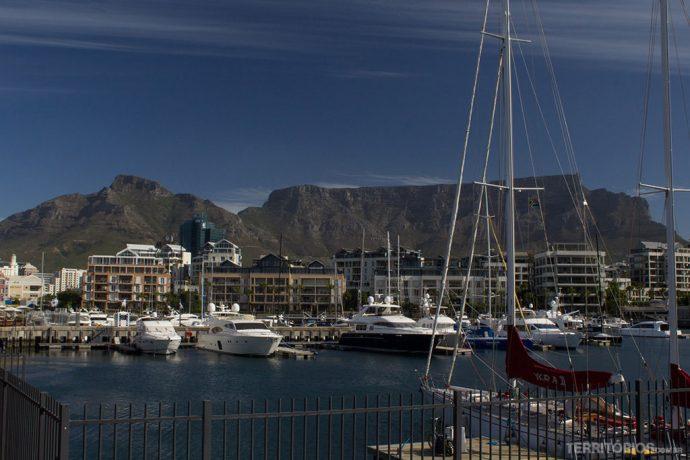 Table Mountain vista do V&A Waterfront