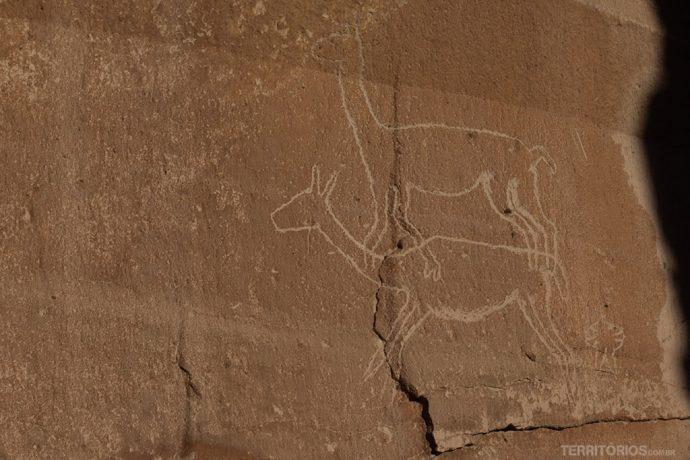 Arte rupestre no Atacama