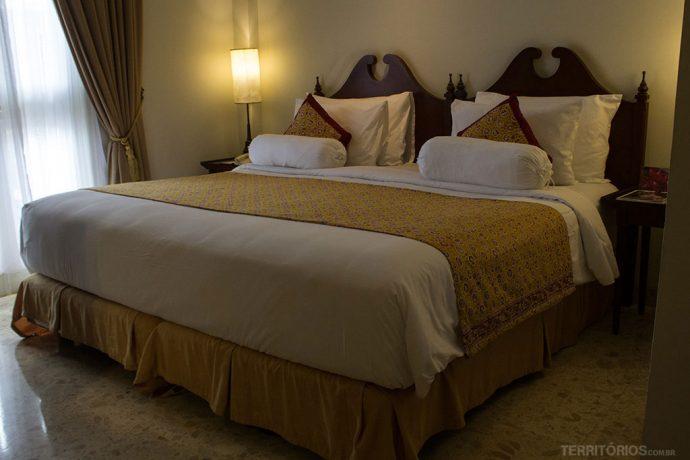 Cama super confortável no Phoenix Hotel
