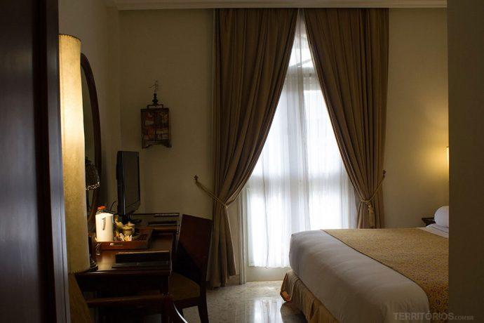 Suíte pequena do Phoenix Hotel e aconchegante perfeita para uma pessoa