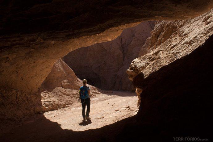 Túnel na Quebrada del Diablo