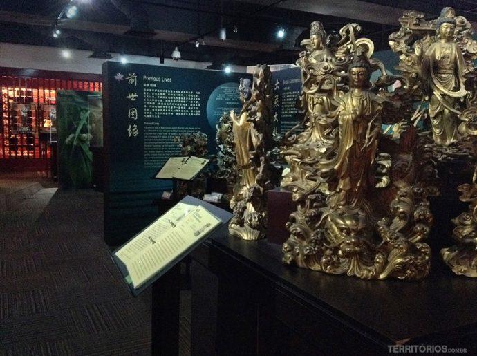 Museu conta a história do budismo