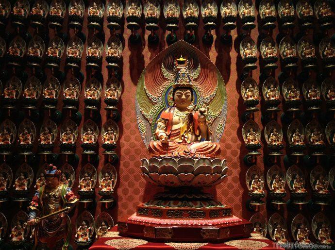 Maha-Shtama-Prapta é o Buda protetor de quem nasce sob o signo do cavalo