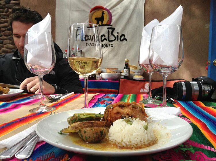 Tour finaliza com almoço oferecido na agência em San Pedro do Atacama