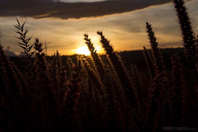 Pôr do sol nas fotos de El Salvador
