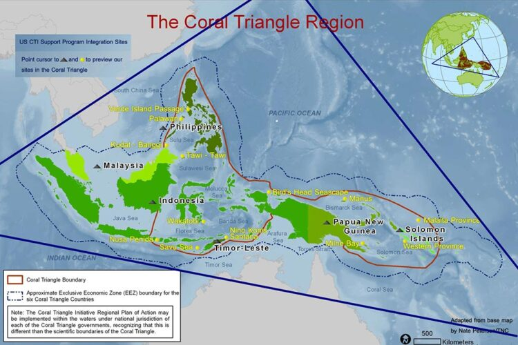 By The Coral Triangle Initiative on Coral Reefs, Fisheries, and Food Security (CTI-CFF) - http://www.uscti.org/, Public Domain, https://commons.wikimedia.org/w/index.php?curid=33278878