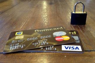 Cartão de crédito bloqueado