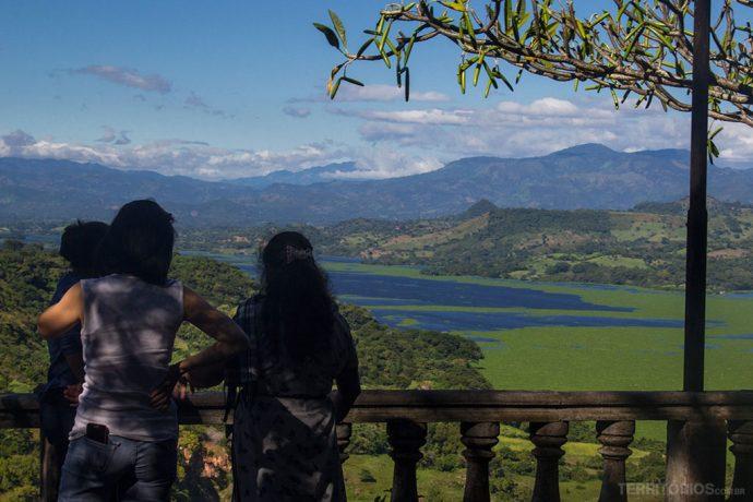 A paisagem em Suchitoto