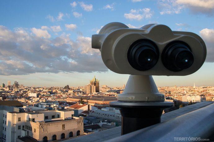 Qual o melhor lugar para ver Madri do alto? todos os citados acima