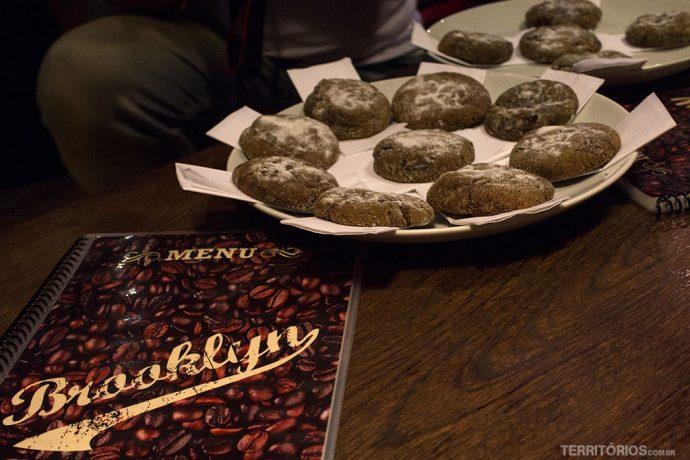 Cookies de gengibre cortesia durante o Curitidoce