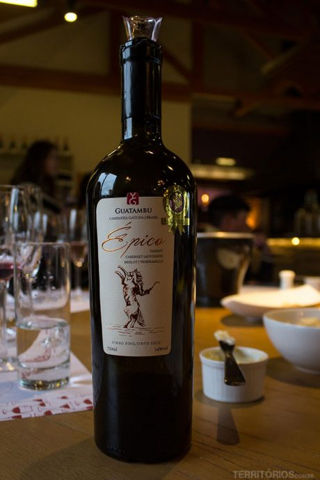 Novo vinho Épico