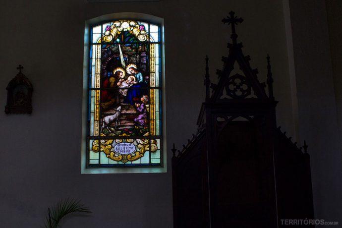 Vitrais da Igreja Matriz Nossa Senhora do Patrocínio