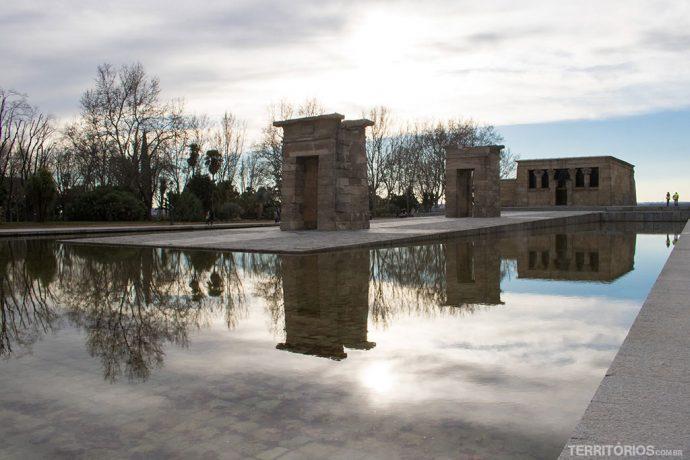 Templo de Debot no Parque del Oeste