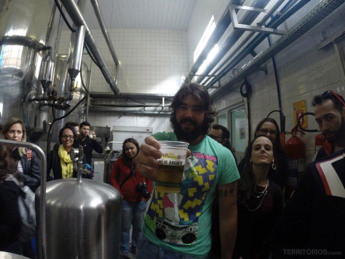 Curitiba é uma das cidades pra degustar cerveja