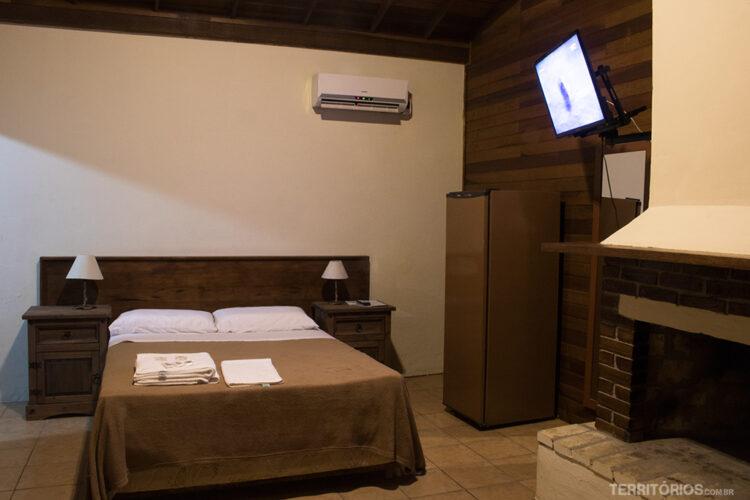 Apartamento para até quatro pessoas indicado para dormir em Pelotas