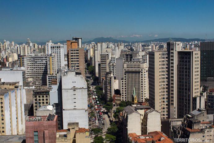 Vista do Edifício Martinelli