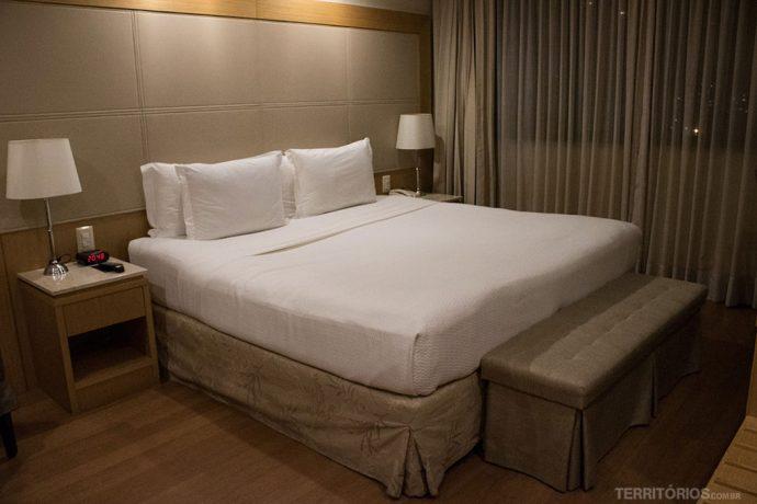 A minha suíte no 24 andar do Hilton Rio de Janeiro Copacabana