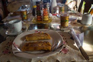 Cada dia um prato diferente no café da manhã