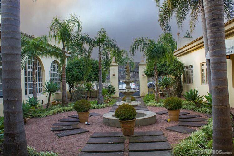 Jardim do Forte Zeca Netto, em Camaquã