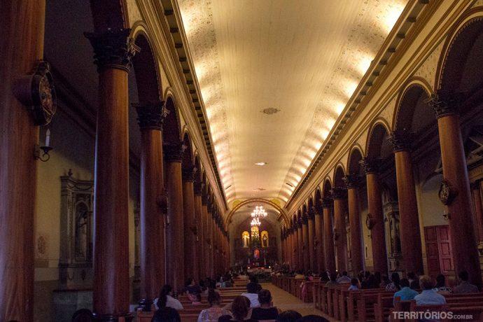 Interior da Igreja Santa Lucia