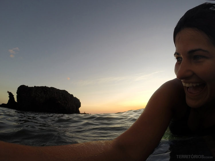 Roberta Martins em El Tunco