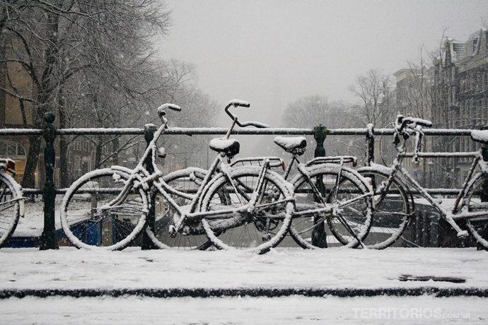 Amsterdam no roteiro 60 dias na Europa durante o inverno