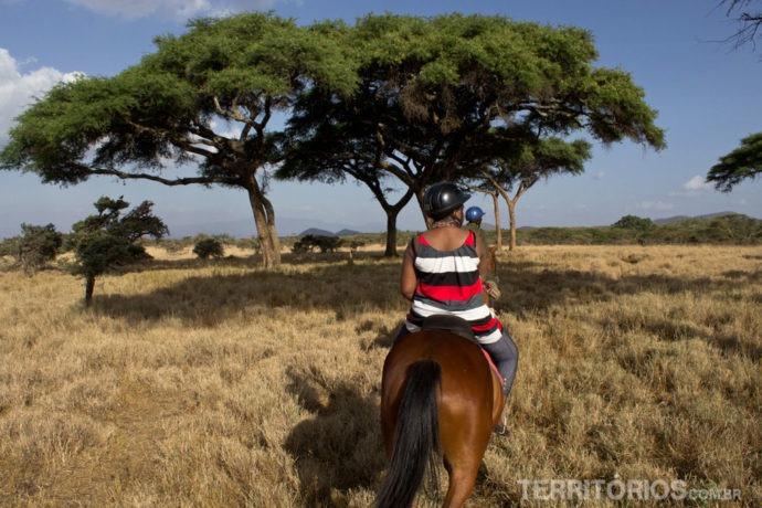 Safari a cavalo no Lewa Wildlife Conservancy