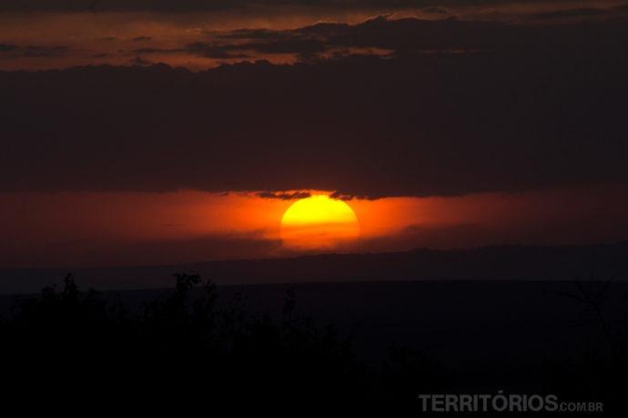 Melhores fotos do pôr do sol