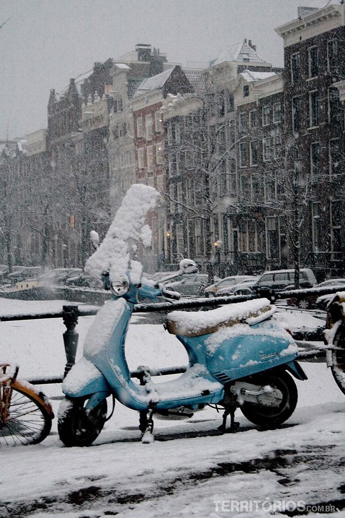 Nevando forte