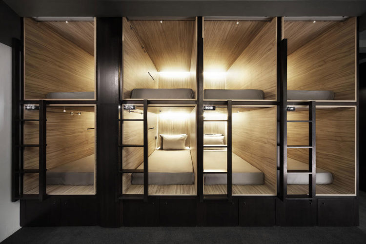 privacidade hostel
