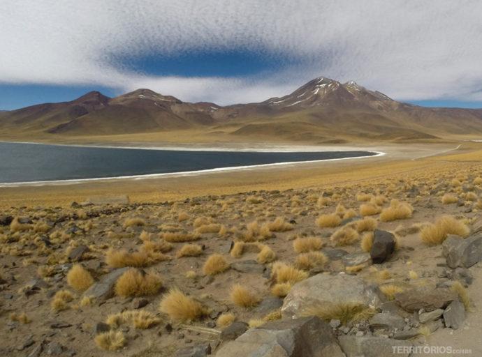 Paisagem da região chamada Lagunas Altiplanicas