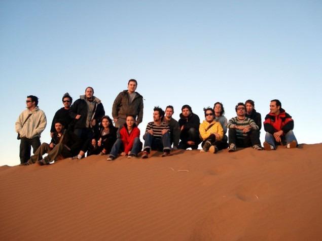 No topo da duna