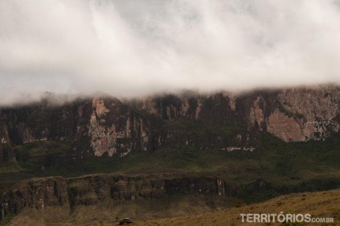 Monte Roraima encoberto