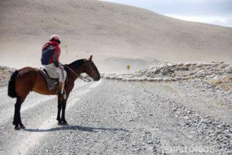 Fotos da Patagônia: estrada em El Calafate - Argentina