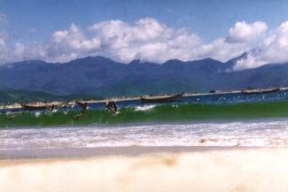 Praia da Pinheira, Santa Catarina - Brasil