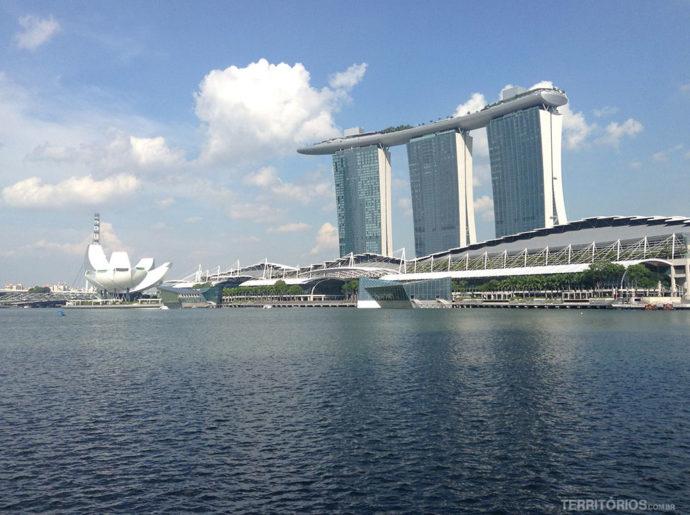 Marina Bay Sands e Art Science Museum no Singapura: roteiro