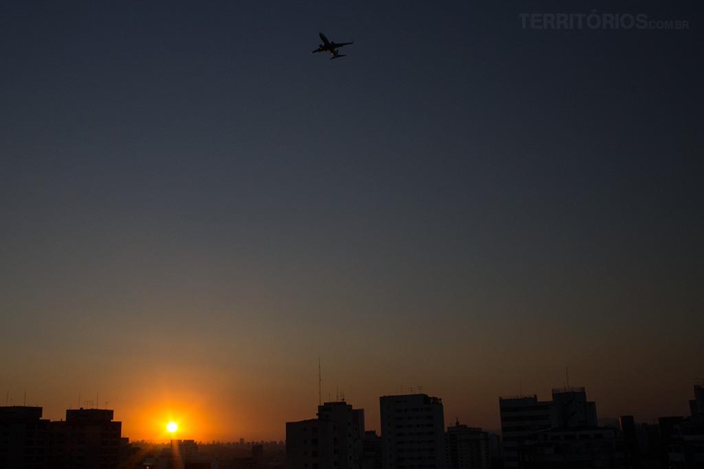Foto da Semana #126 Pôr do sol São Paulo - Brasil