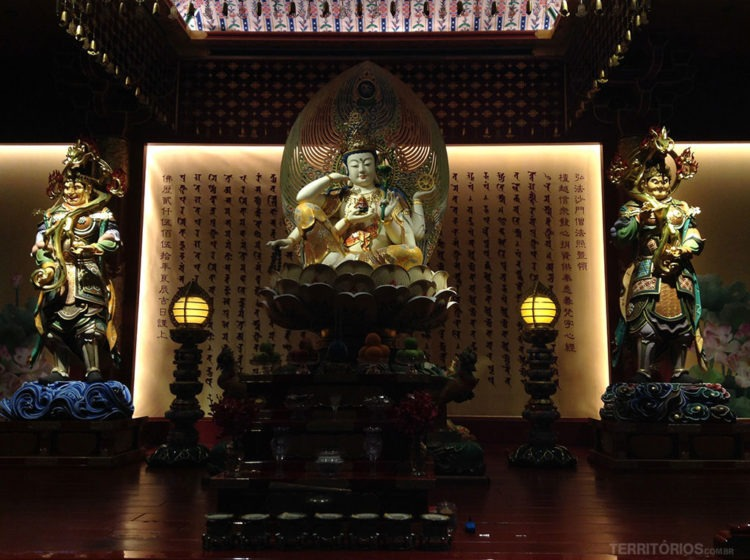 templo budista de Singapura