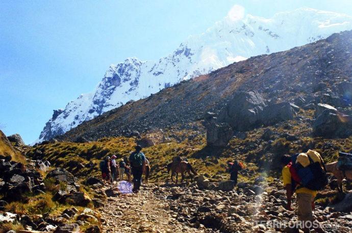 Salkantay, uma das trilhas inca