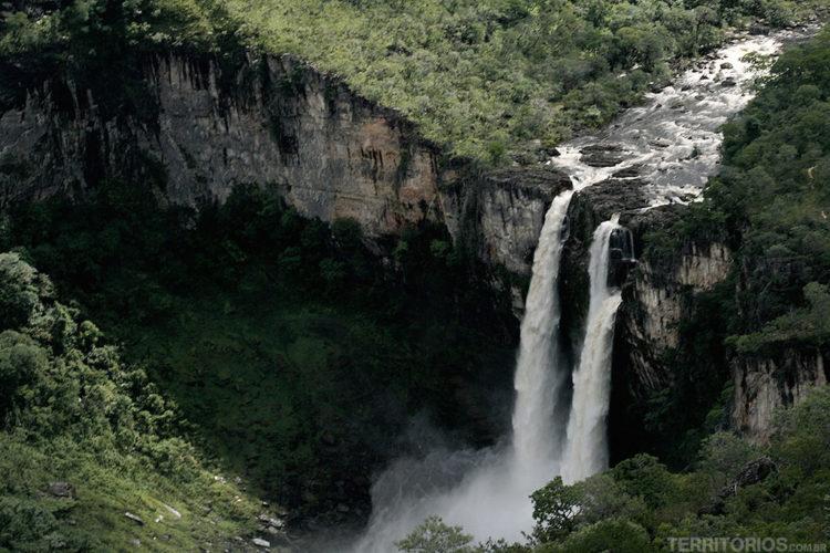 5 cachoeiras na Chapada dos Veadeiros