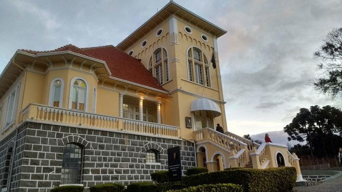 Castelo Peterlongo em Garibaldi
