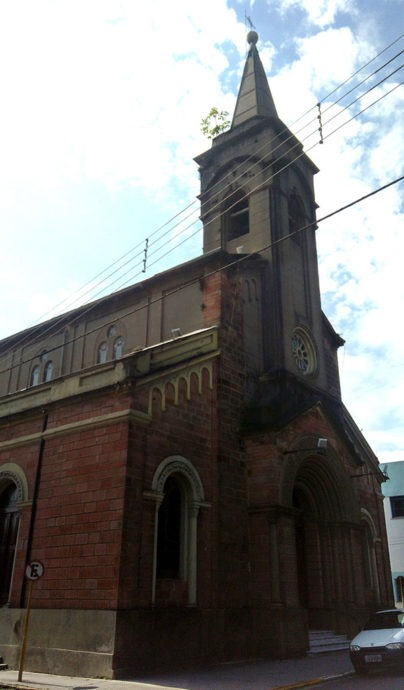 Igreja em Sant'Ana do Livramento
