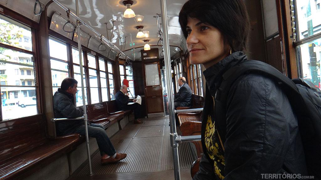 Interior do tram