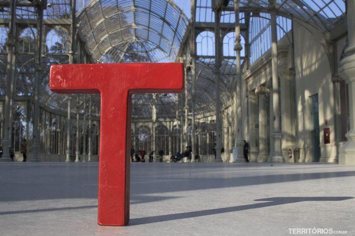 Tesão por viajar no Palácio de Cristal, Madri