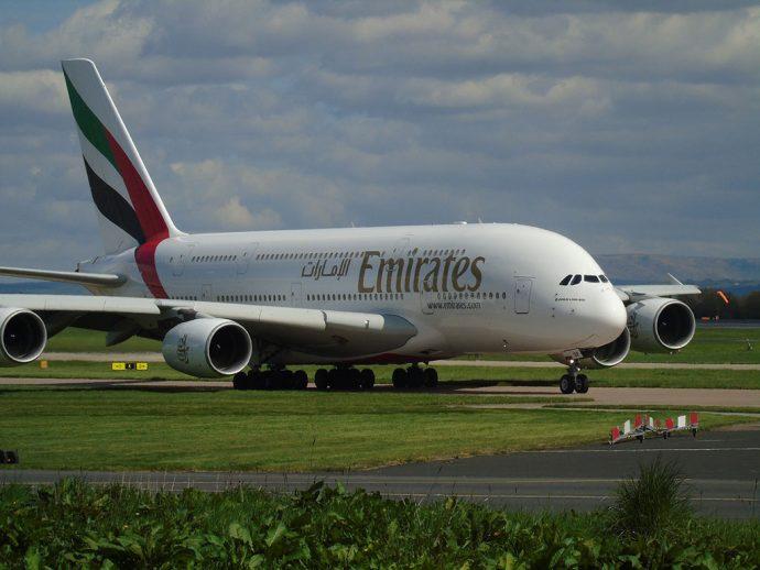 Emirates não voa para Abu Dhabi ou Dubai, somente Dubai