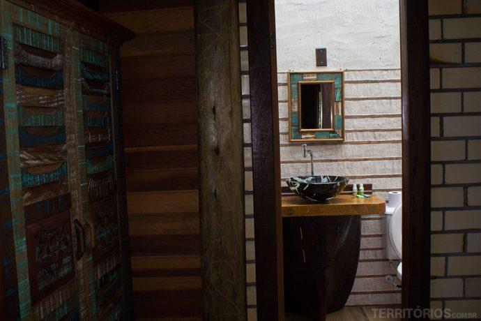 Decoração rústica e elegante em pousadas no Paraná