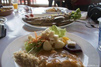 Tainha no Restaurante Zequinha