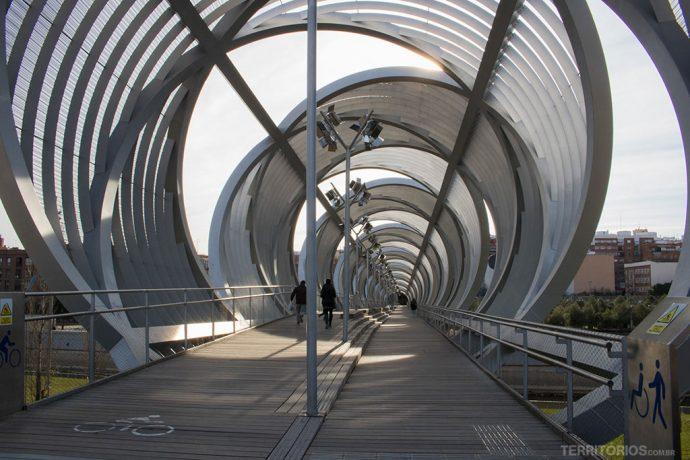 A moderna Ponte de Arganzuela