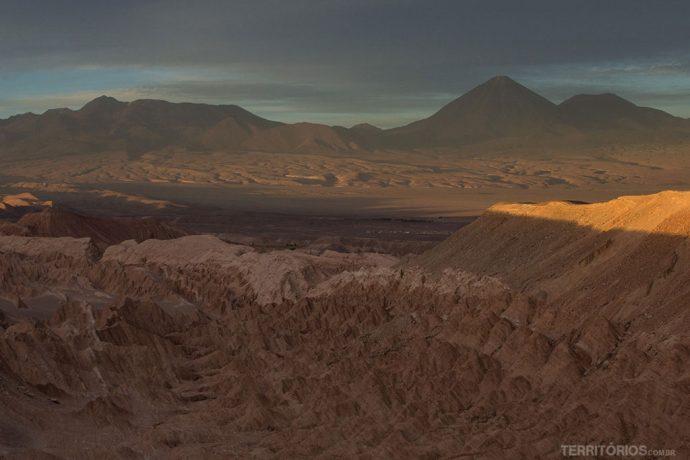 Vale de la Muerte é um dos mais famosos no Atacama
